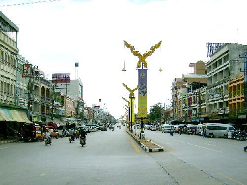 Mae Sai, aThai border town