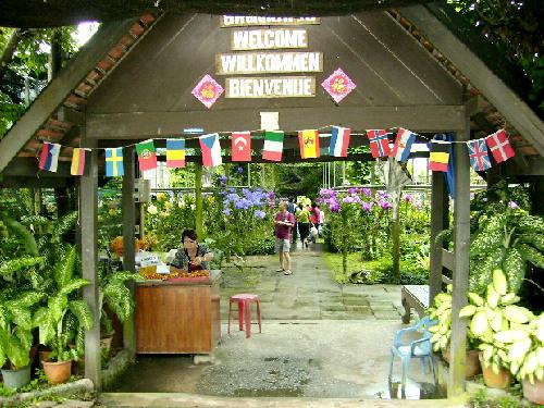 Mae Ram Orchid Farm Entrance