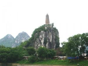 Pagoda Hill near Pierced Hill