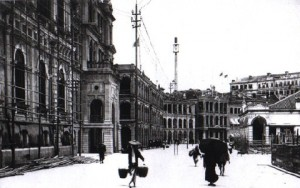 A Hong Kong street in 1865
