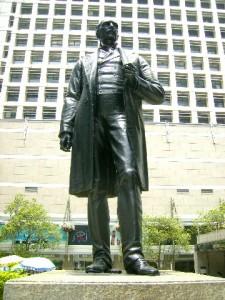 Statue of Sir Thomas Jackson (1841-1915)