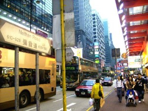 Busy Nathan Road
