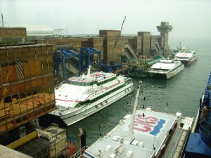 China Ferry Terminal at Tsim Sha Tsui, Kowloon