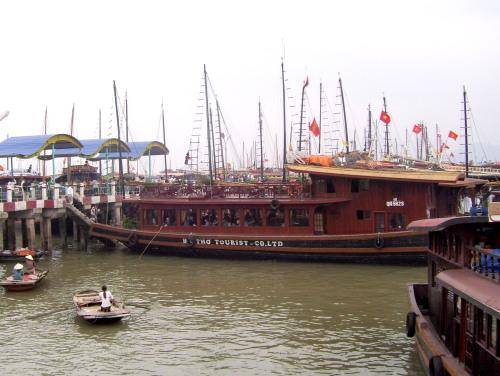 Tourist Boats at Hon Gai Jetty