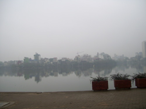 Misty West Lake, Hanoi