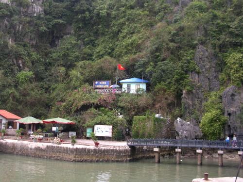 Leaving Thien Cung Cave