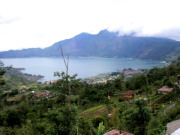 Lake Batur and Mount Abang