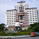 The largest hotel in Phuket Town