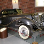 A 1936 Mercedes-Benz car