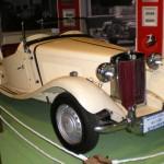 A 1951 MG-TD car