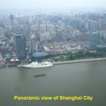A panoramic view of Shanghai City