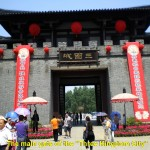 Entrance to the Three Kingdom City in Wuxi
