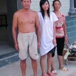 Aunty Chow Li's elder son and his family