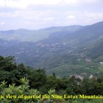 Nine Lotus Mountain Area(Jiulian Shan)