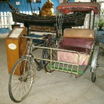 A trishaw of yesteryears