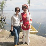 A Bai lady with writer's wife