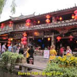Bars in Old Lijiang Town