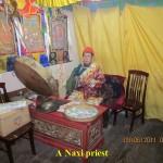 A Naxi priest