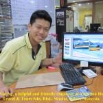 Vin Ng of Vacation Hub Travel & Tours Sdn. Bhd.