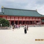 Heian Temple in Kyoto