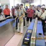 Train-Ticket Slot Machines at Toyahashi Station
