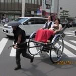 A rickshaw-puller