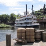 "Arrival of Mart Twain Riverboat from the ""Wild West"""