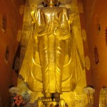 Standing Buddha, Gotama, facing west