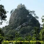 Mount Popa(Taung Kalat)