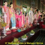 Nats or Spirits in Mahagiri Shrine