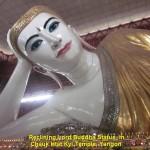 Reclining Lord Buddha Statue in Chauk Htat Kyi Temple, Yangon