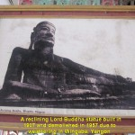 The original reclining Lord Buddha statue built in 1907