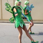 Pretty dancers in Carnival Fantasy Parade