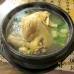 Stewed chicken with ginseng