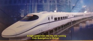 A China High-Speed Train