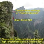 Tianmen Glass-Walkway built onto sheer cliff