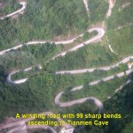Winding Road to Tianmen Cave
