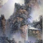 A Jungsheng's painting