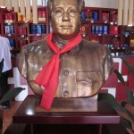 A bust of Chairman Mao Zedong