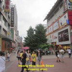 A shopping street in Changsha City