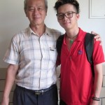Writer(L) and tour leader(R), Boon Teck